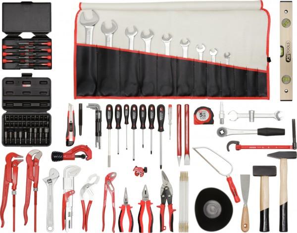 KS Tools Sanitär-Premium-Werkzeug-Satz, 120-tlg