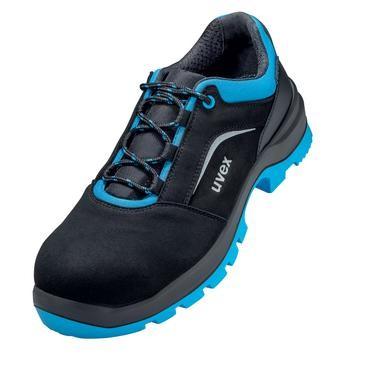 uvex Halbschuh 9557 schwarz/blau PUR