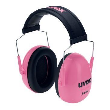 uvex Kapselgehörschutz K Junior, pink, SNR 29 dB, Größe S, M