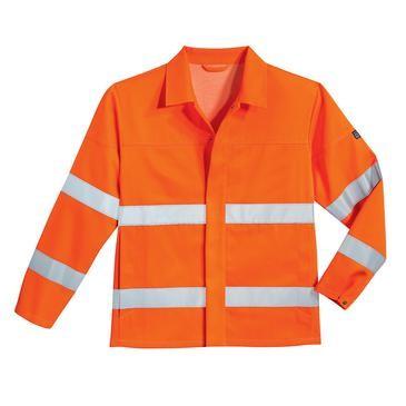 uvex protection flash Herren-Arbeitsjacke, Warnschutzkleidung, Regular Fit