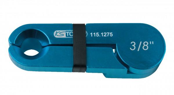 """KS Tools Scheren-Entriegler, Alu blau, 3-8"""""""