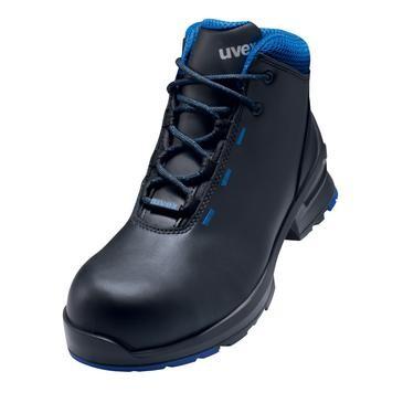 uvex Stiefel 8555 schwarz/blau PUR
