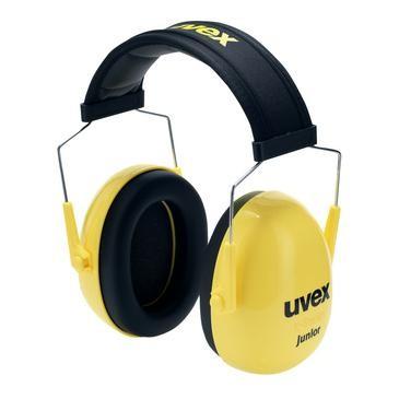 uvex Kapselgehörschutz K Junior, gelb, SNR 29 dB, Größe S, M