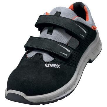 uvex Sandale 6906 schwarz/rot PU/PU