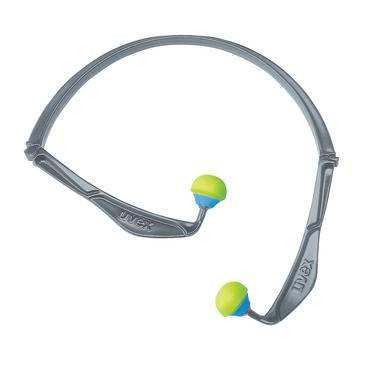 uvex Gehörschutzstöpsel x-fold, grün, SNR 23 dB, Größe S, M, L - Inhalt: 5 Stück