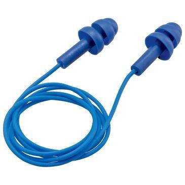 uvex Gehörschutzstöpsel whisper, blau, SNR 23 dB, Größe S - Inhalt: 50 Stück