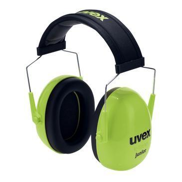 uvex Kapselgehörschutz K Junior, grün, SNR 29 dB, Größe S, M