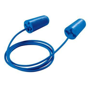uvex Gehörschutzstöpsel x-fit, blau, SNR 37 dB, Größe M - Inhalt: 100 Stück