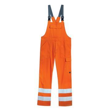 uvex protection flash Herren-Latzhose, Warnschutzkleidung, Regular Fit