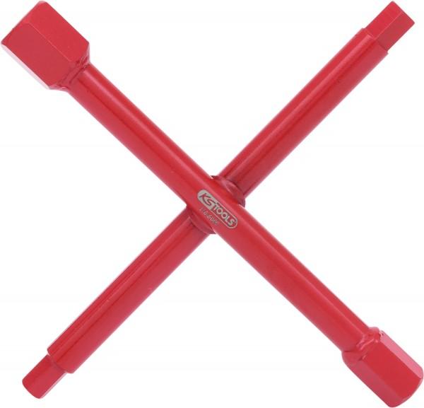 KS Tools Sanitär-Kreuzschlüssel, 7 Funktionen