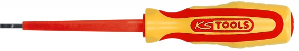 KS Tools ERGOTORQUE VDE Schlitz-Schraubendreher, 0,8mm, 255mm