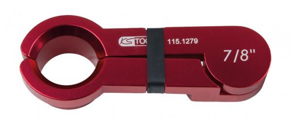 "KS Tools Scheren-Entriegler, Alu rot, 7-8"""