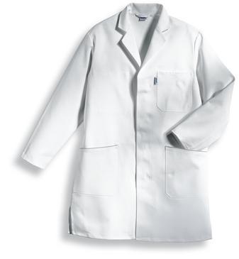 uvex whitewear Herren-Mantel, Regular Fit