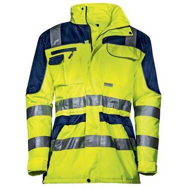 uvex protection flash Herren-Wetterjacke, Warnschutzkleidung, Regular Fit