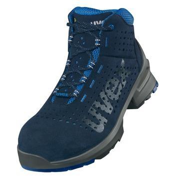 uvex Stiefel 8532 blau PUR