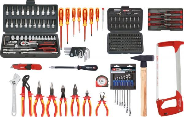 KS Tools Premium Max Elektriker-Werkzeugkoffer, 195-tlg