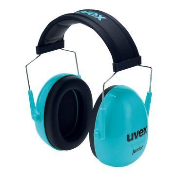 uvex Kapselgehörschutz K Junior, blau, SNR 29 dB, Größe S, M
