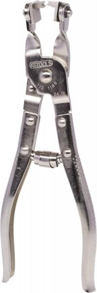 KS Tools Schlauchklemmenzange mit drehbarer Prismenaufnahme