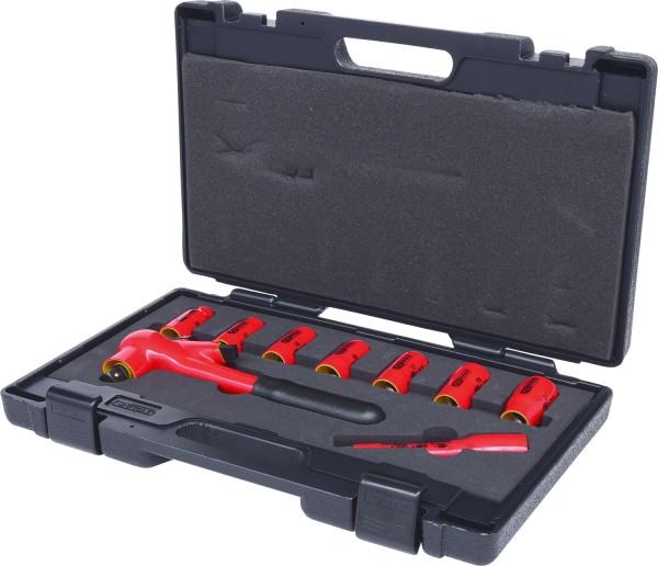"""KS Tools 1-2"""" Steckschlüssel-Satz mit isolierten Werkzeugen, 9-tlg"""