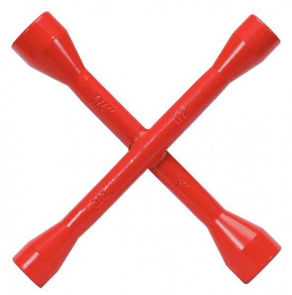 KS Tools Gasrohr-Stopfenschlüssel, 4 Funktionen