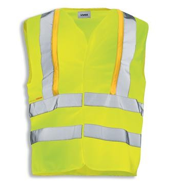 uvex protection flash Herren-Weste Warnschutzkleidung, Regular Fit