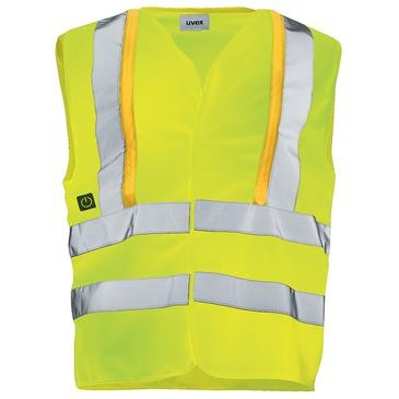 uvex protection flash Herren-Weste, Warnschutzkleidung, Regular Fit