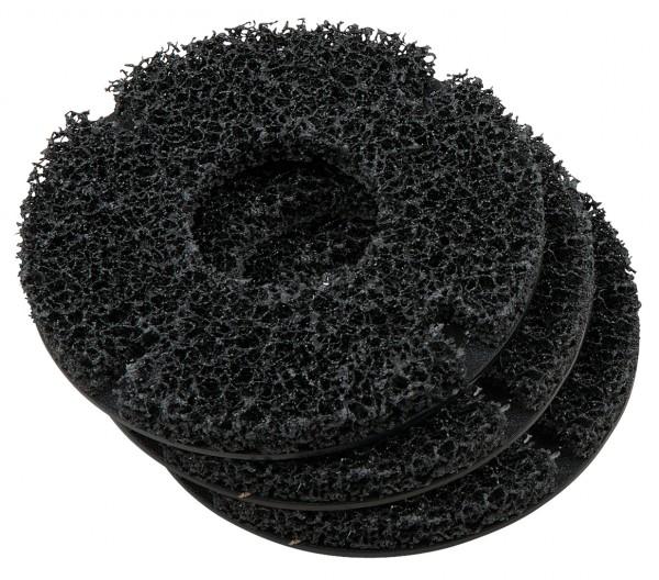 KS Tools Ersatzscheiben-Satz für Radnabenschleifer Ø 160 mm, Innen-Ø 75 mm, 3-tlg