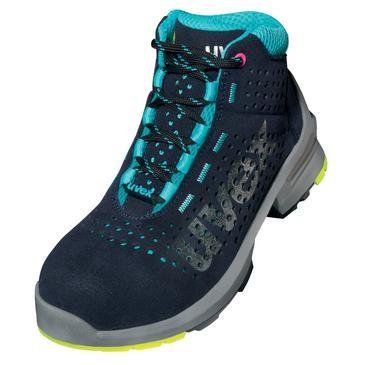 uvex Stiefel 8563 schwarz/blau PUR