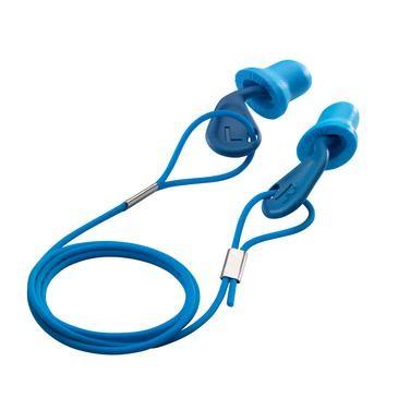 uvex Gehörschutzstöpsel xact-fit, blau, SNR 26 dB, Größe M - Inhalt: 50 Stück