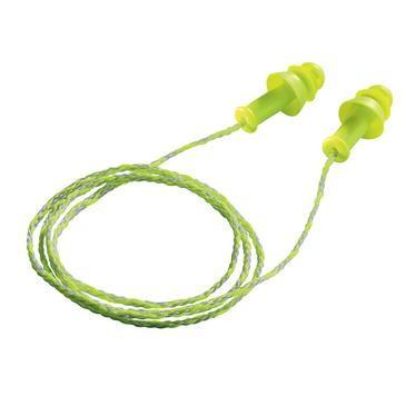 uvex Gehörschutzstöpsel whisper+, grün, SNR 27 dB, Größe M - Inhalt: 50 Stück