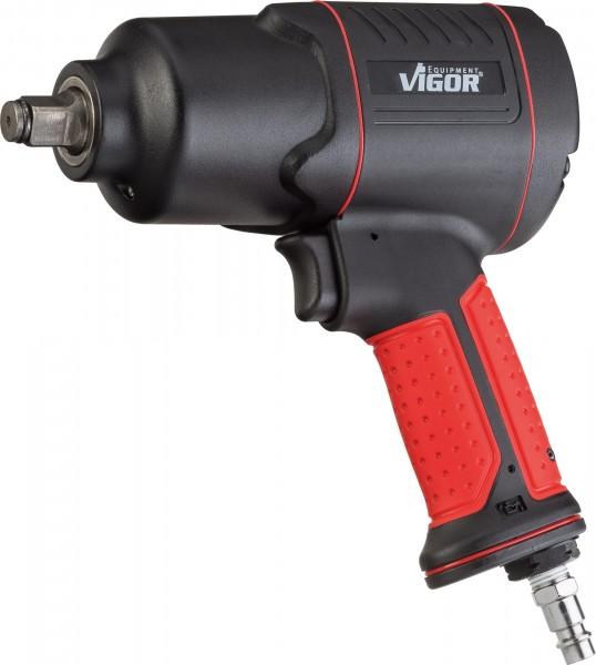 VIGOR Schlagschrauber, V4800, Lösemoment maximal: 1200 Nm, Vierkant 12,5 mm (1/2 Zoll), 186.8 mm, Ho