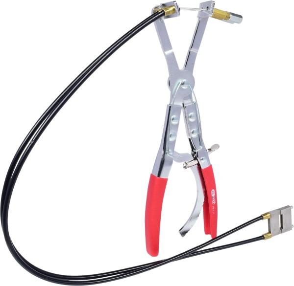 KS Tools Schlauchschellenzange mit Doppelbowdenzug, 600mm