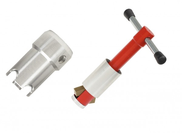 KS Tools Ventilfix und Badewannenadapter, 2-tlg