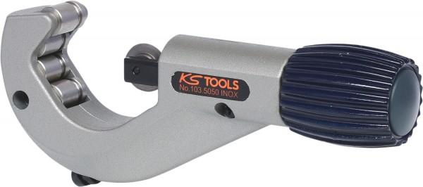 KS Tools Teleskop-Rohrabschneider für Edelstahl (Inox) Rohre, 3-42mm