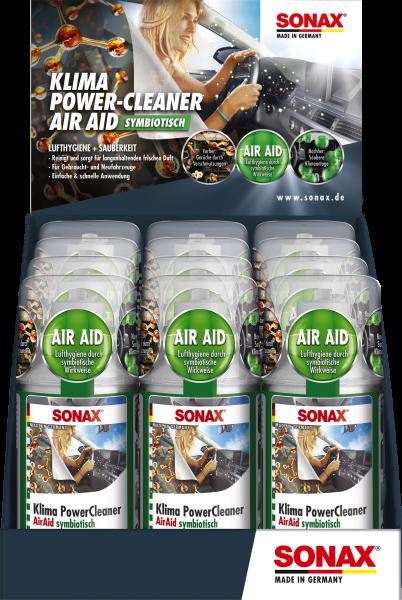 SONAX Klima PowerCleaner AirAid symbiotisch Thekendisplay