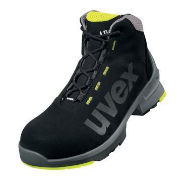 uvex Stiefel 8545 sch/silb/lime PUR