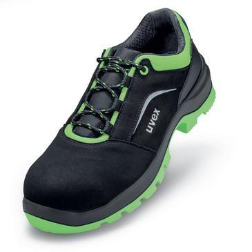 uvex Halbschuh 9568 schwarz/grün PUR