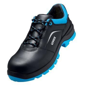 uvex Halbschuh 9555 schwarz/blau PUR