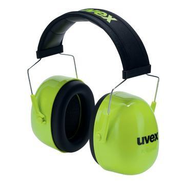 uvex Kapselgehörschutz K4, grün, SNR 35 dB, Größe S, M, L