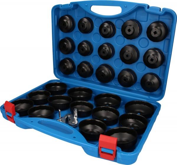 Brilliant Tools Ölfilterschlüssel-Satz, 30-tlg - BT711050