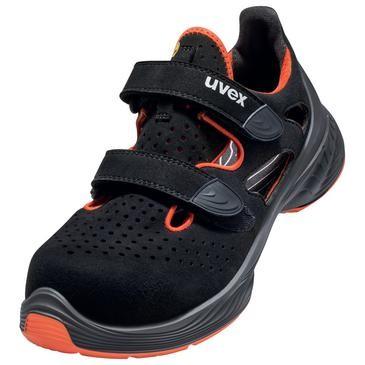 uvex Sandale 6848 schwarz PUR