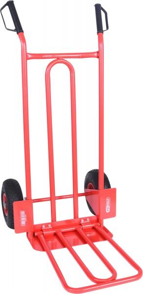 KS Tools Transportkarre - Sackkarre mit Luftbereifung, 250kg