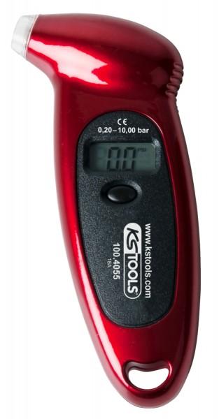 KS Tools Digitaler Reifendruckmesser, 0,20 - 10,0 bar