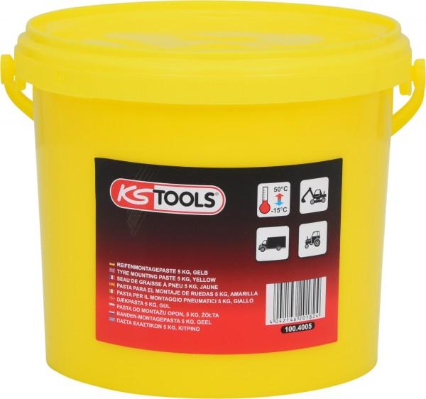 KS Tools Reifenmontagepaste 5 kg, gelb