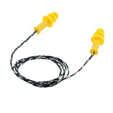 uvex Gehörschutzstöpsel whisper surpreme, gelb, SNR 30 dB, Größe L - Inhalt: 50 Stück