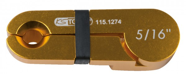"KS Tools Scheren-Entriegler, Alu gold, 5-16"""