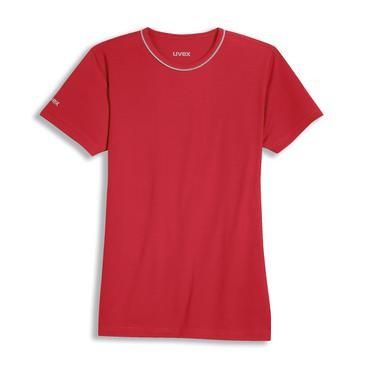 uvex Herren-T-Shirt in rot, Regular Fit