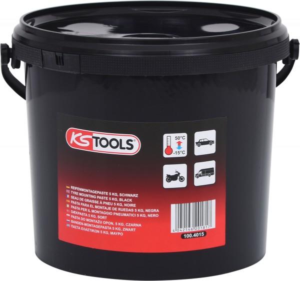KS Tools Reifenmontagepaste 5 kg, schwarz