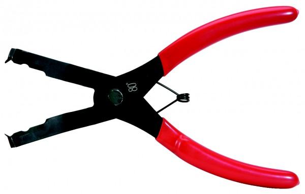 KS Tools Trim-Clip-Zange, Zangenende 80°, 200mm