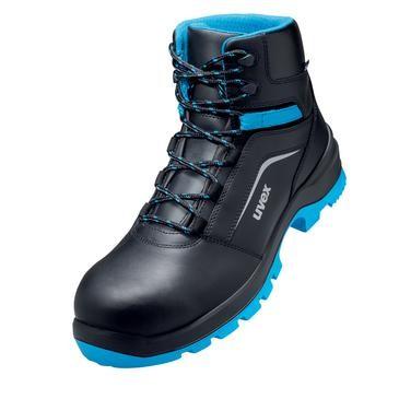 uvex Stiefel 9556 schwarz/blau PUR